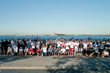 First Annual NYC Barefoot Run on Governor's Island