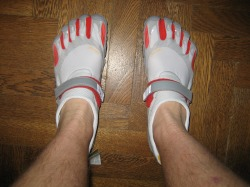 Vibram Five Finger Bikilas without socks